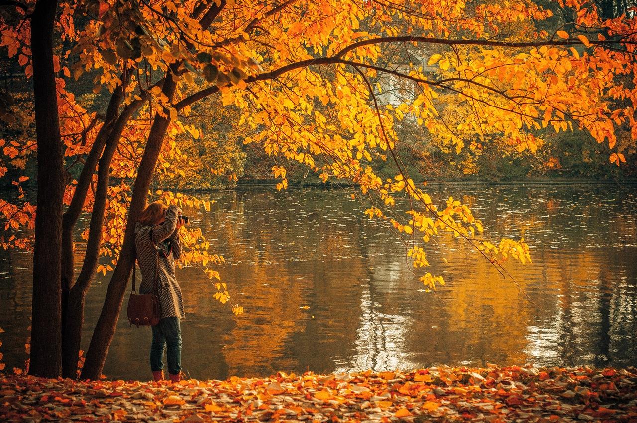 Der Herbst lädt dazu ein, Fotos von der Natur und dem Liebsten zu machen.